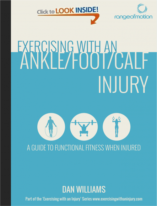 Exercising with an Ankle/Foot/Calf Injury