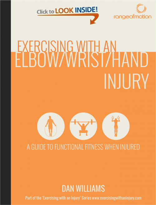 Exercising with an Elbow/Wrist/Hand Injury