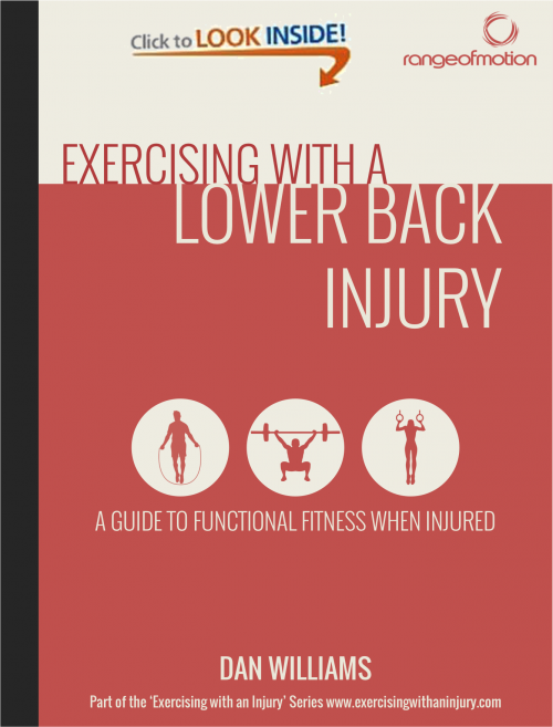 Exercising with a Lower Back Injury